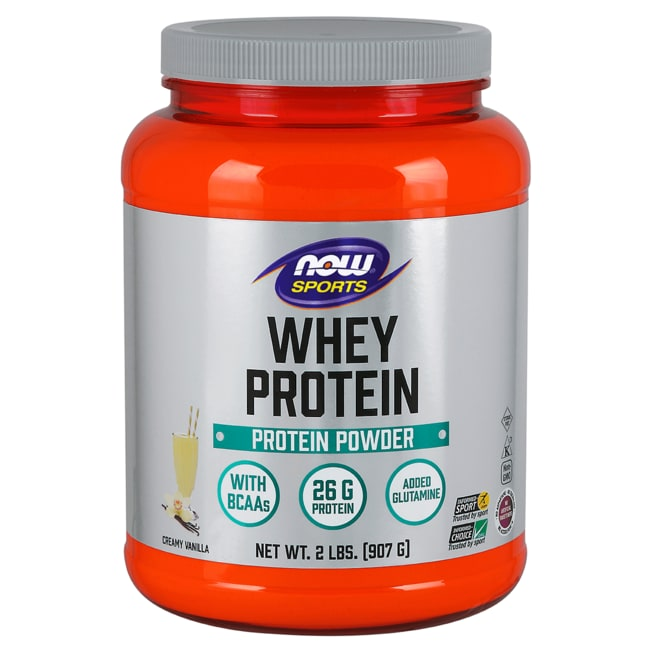NOW FoodsWhey Protein Natural Vanilla