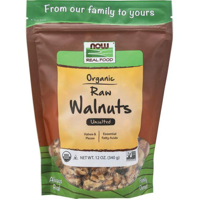 NOW FoodsOrganic Raw Walnuts - Unsalted