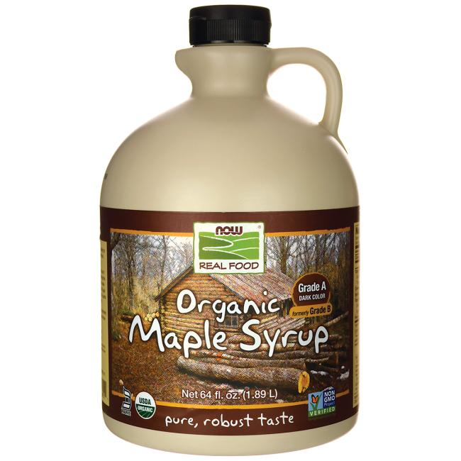 NOW Foods Organic Maple Syrup - Grade A