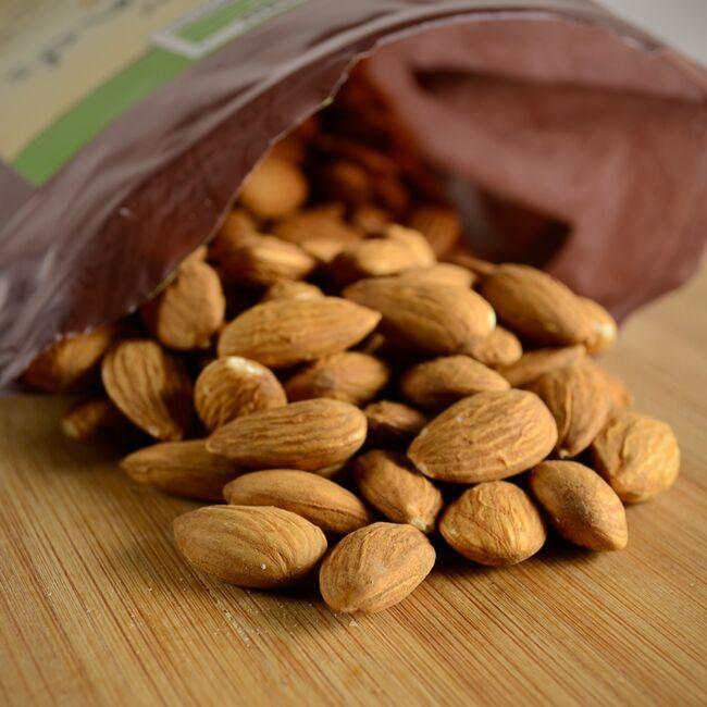NOW FoodsRaw Almonds - Unsalted Close Up