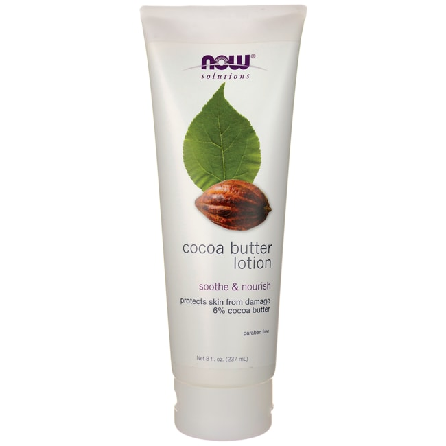 NOW Foods Cocoa Butter Lotion Soothe & Nourish