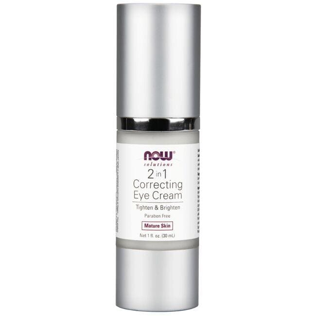 NOW Foods2 in 1 Correcting Eye Cream