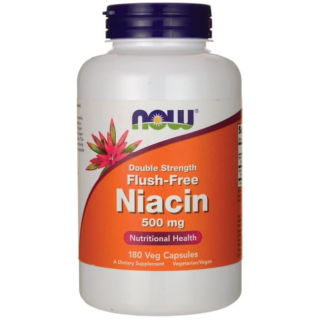 NOW Foods Double Strength Flush-Free Niacin