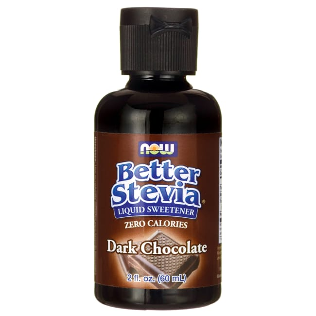 NOW FoodsBetter Stevia Liquid Sweetener - Dark Chocolate