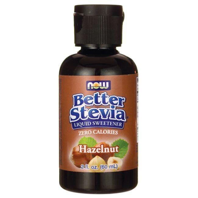 NOW FoodsBetter Stevia Liquid Sweetener - Hazelnut