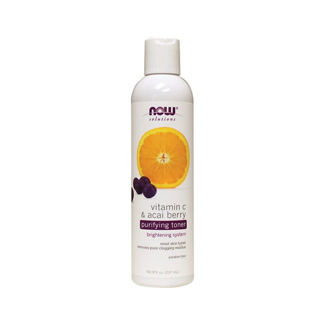 NOW FoodsVitamin C & Acai Berry Purifying Toner