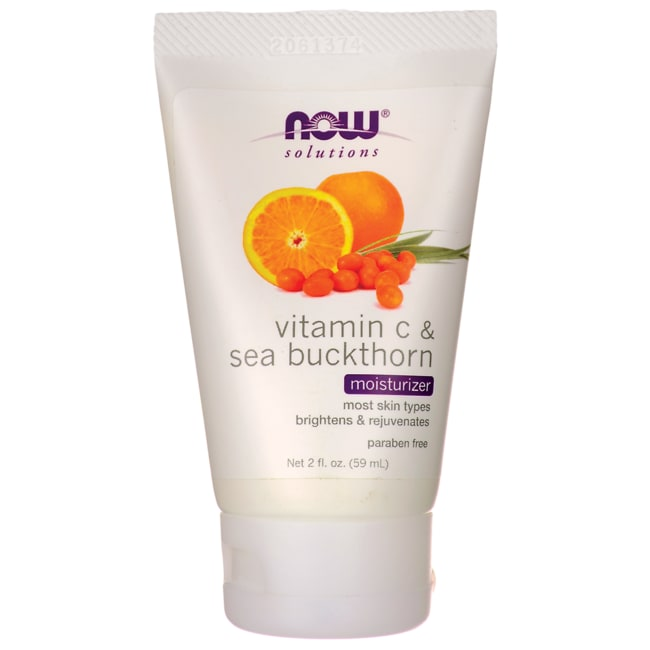 NOW Foods Vitamin C & Sea Buckthorn Moisturizer