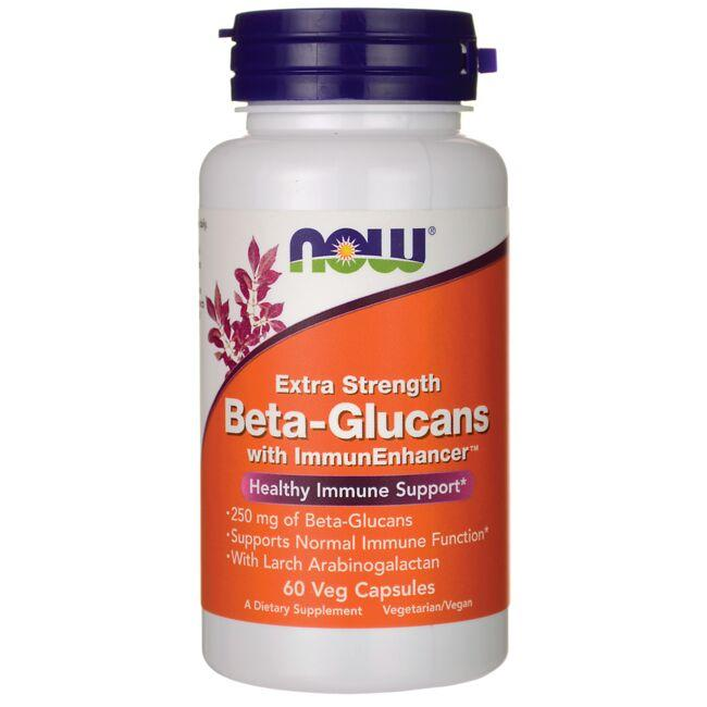 NOW FoodsExtra Strength Beta-Glucans with ImmunEnhancer