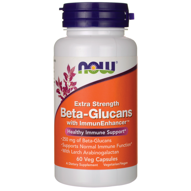 NOW FoodsBeta-Glucans with ImmunEnhancer Xtra Strength