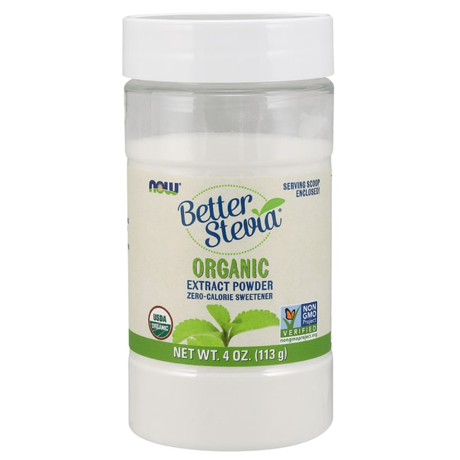 NOW Foods Better Stevia Extract Powder
