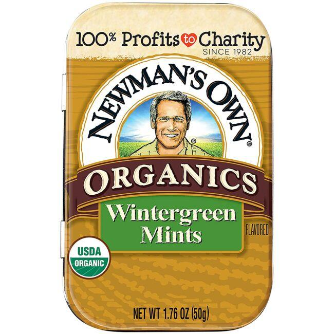 Newman's Own Organics Wintergreen Mints