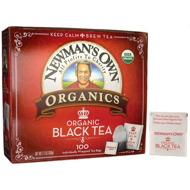Newman's Own Organics Organic Black Tea