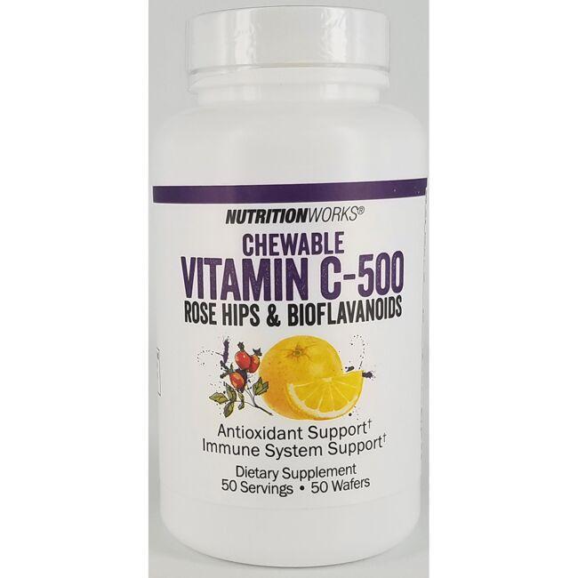 Nutrition WorksChewable Vitamin C-500