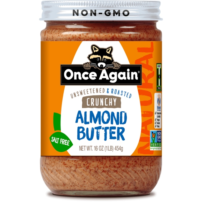 Once AgainAlmond Butter Crunchy