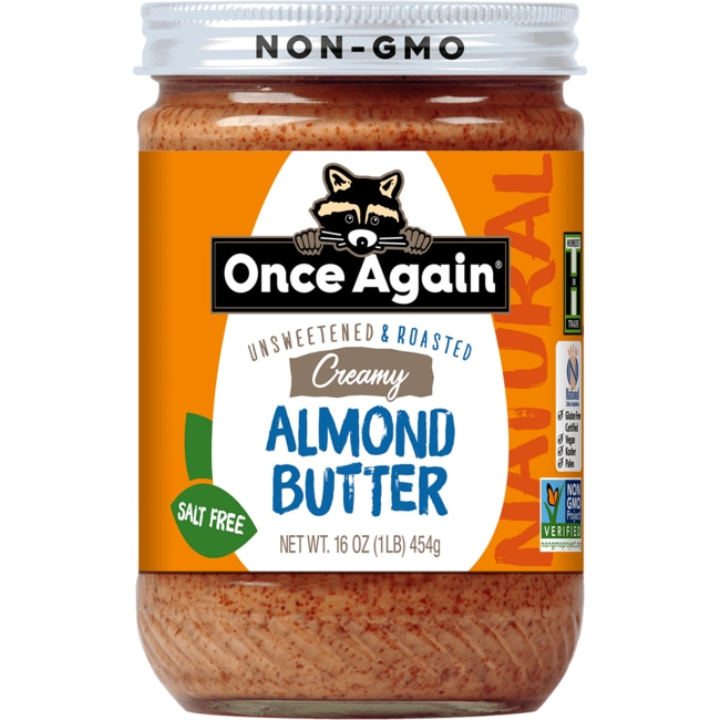 Once AgainAlmond Butter Creamy