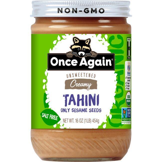 Once AgainNut Butter Organic Tahini