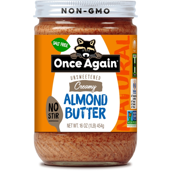 Once Again Natural American Classic Creamy Almond Butter