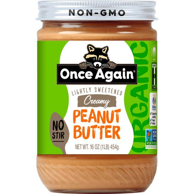 Once Again Creamy Peanut Butter - Lightly Sweetened