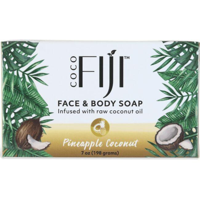 Organic FijiOrganic Pineapple Coconut Soap Bar