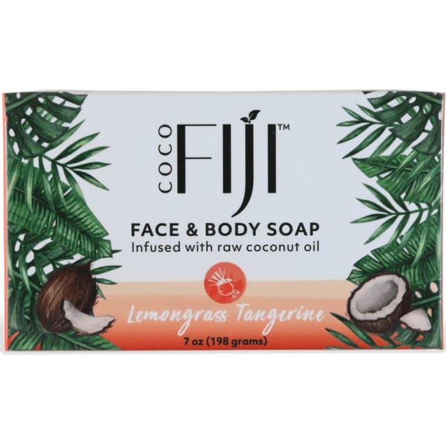 Organic FijiOrganic Lemongrass Tangerine Soap Bar