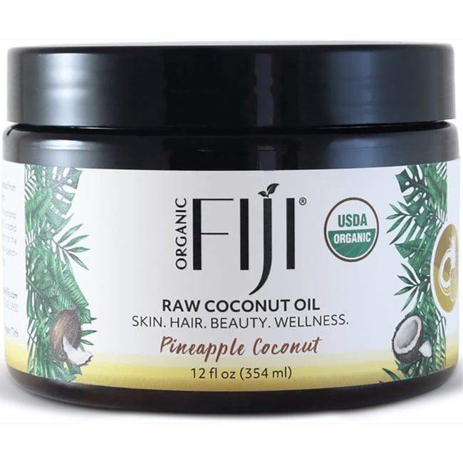 Organic Fiji Pineapple Coconut Oil
