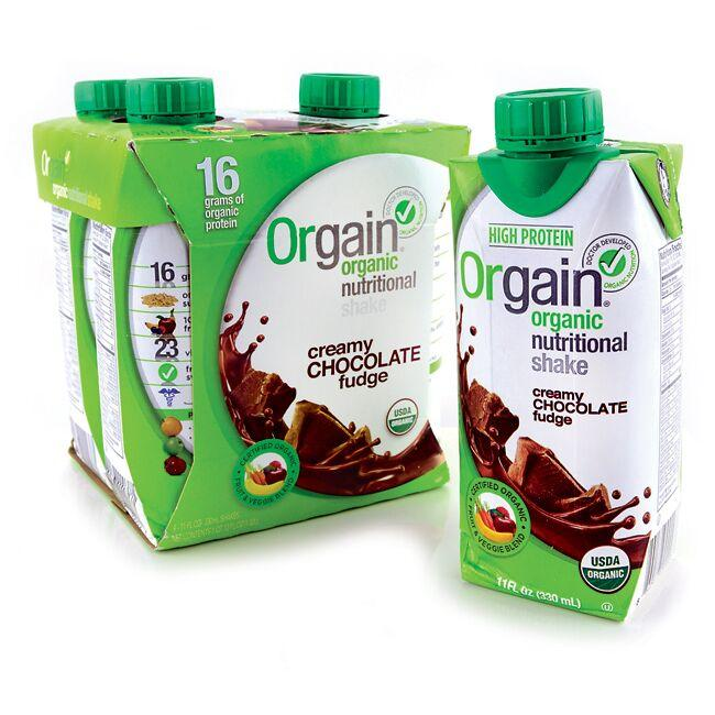 Orgain Organic Nutritional Shake Creamy Chocolate Fudge