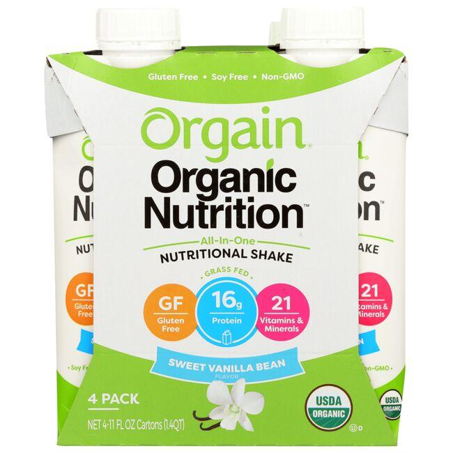 Orgain All-In-One Nutritional Shake - Sweet Vanilla Bean