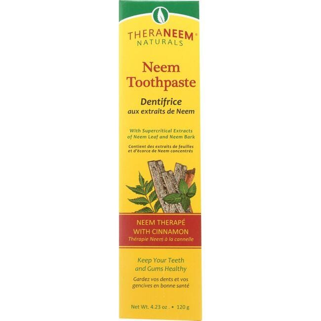Organix SouthTheraNeem Naturals Neem Toothpaste with Cinnamon