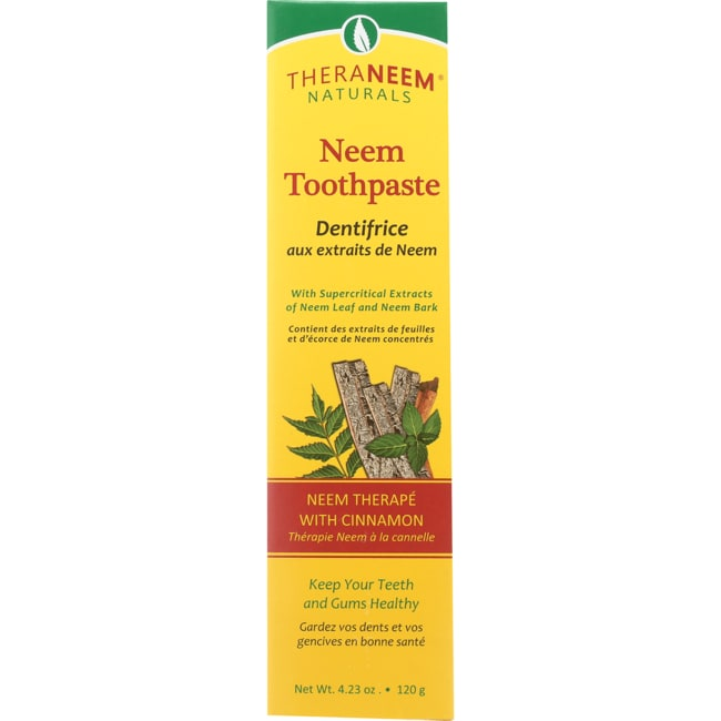 Organix SouthTheraNeem Organix Neem Toothpaste Cinnamon