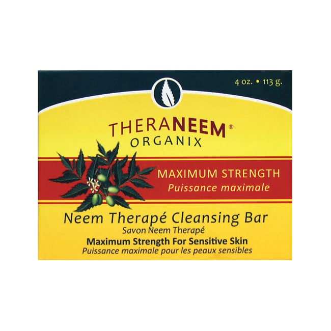 Organix SouthTheraNeem Organix Neem Therape Cleansing Bar Max Strength