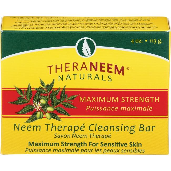 Organix South TheraNeem Organix Neem Therape Cleansing Bar Max Strength