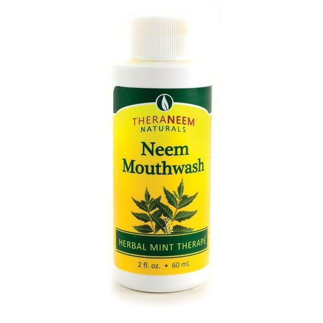 Organix South TheraNeem Neem Mouthwash Herbal Mint Therape