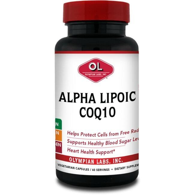 Olympian LabsAlpha Lipoic Coenzyme Q10
