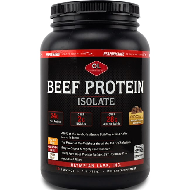 Olympian LabsBeef Protein Isolate - Chocolate