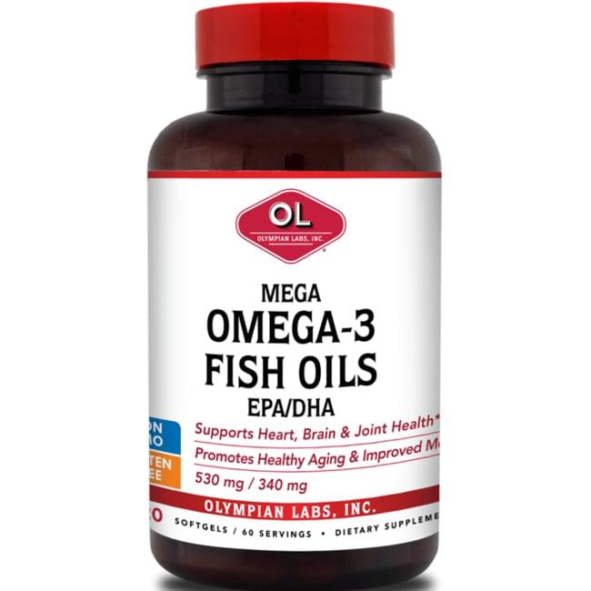Olympian LabsMega Omega-3 Fish Oils