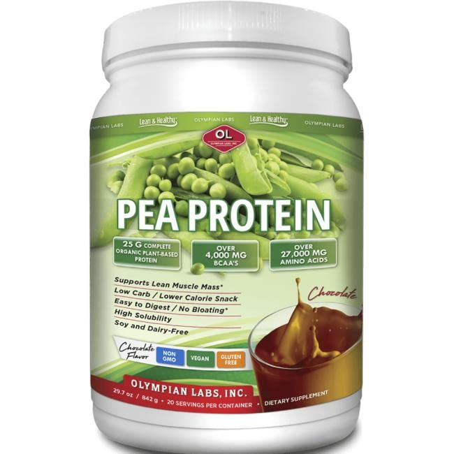 Olympian Labs Pea Protein Lean & Healthy - Rich Chocolate