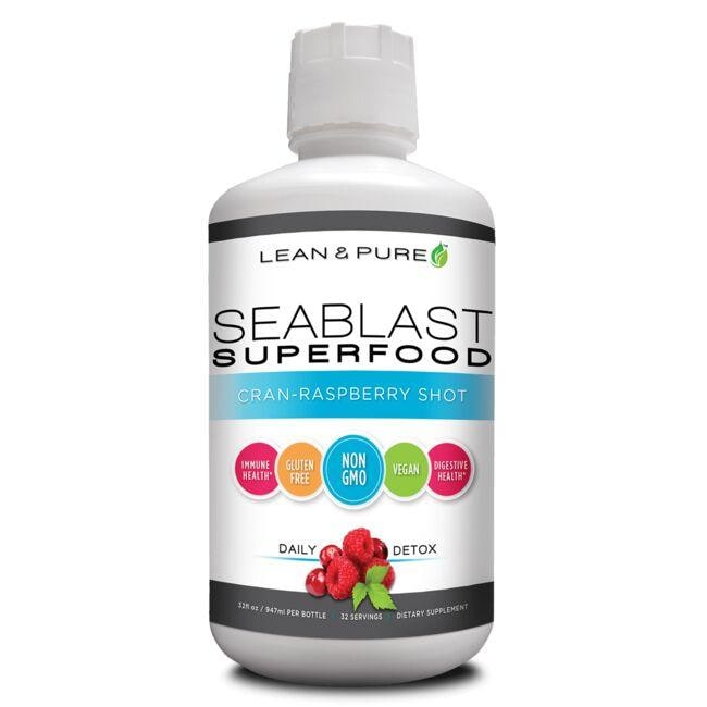 Olympian LabsLean & Pure SeaBlast Superfood - Cran Raspberry Shot