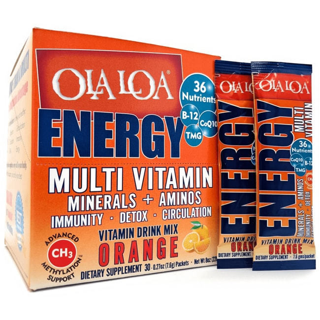 Ola LoaEnergy Multi Vitamin Drink Mix - Orange