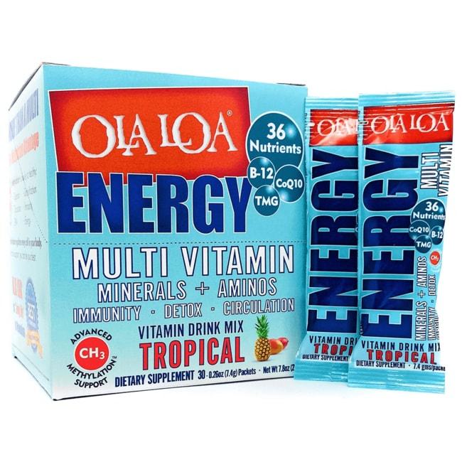 Ola Loa Energy Multi Vitamin Tropical