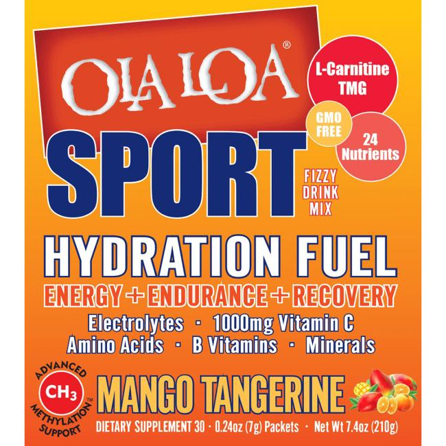 Ola LoaSport Hydration Fuel - Mango Tangerine