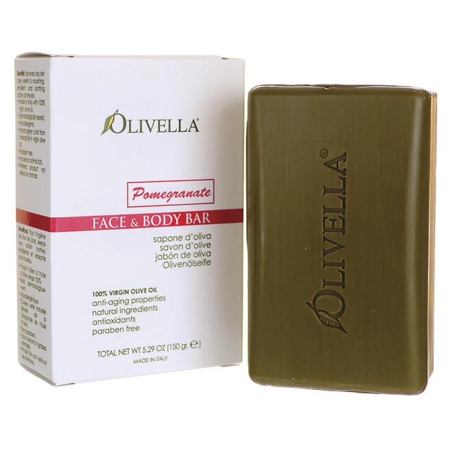 OlivellaFace & Body Bar Pomegranate