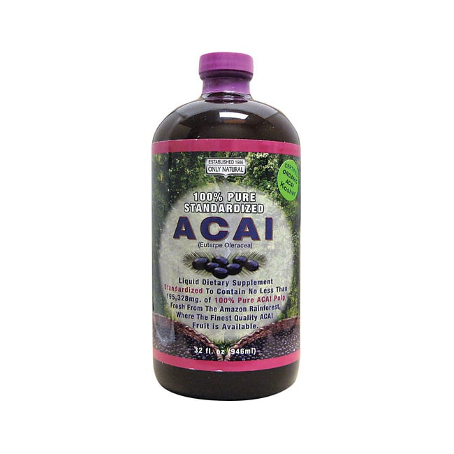 Only Natural Acai 100% Pure Standardized