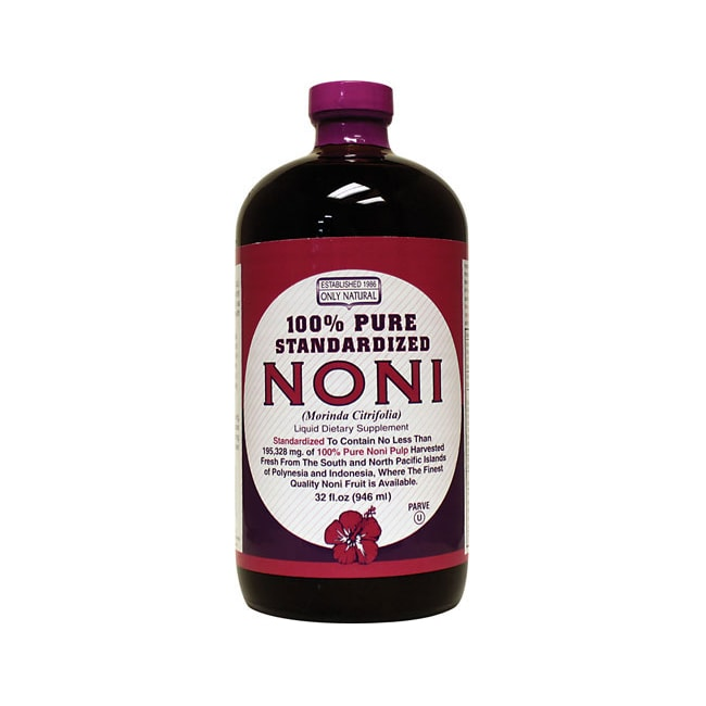 Only NaturalNoni 100% Pure Standardized