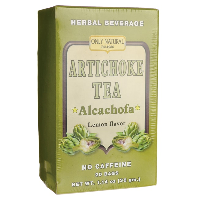 Only NaturalArtichoke Tea Lemon Flavor - No Caffeine