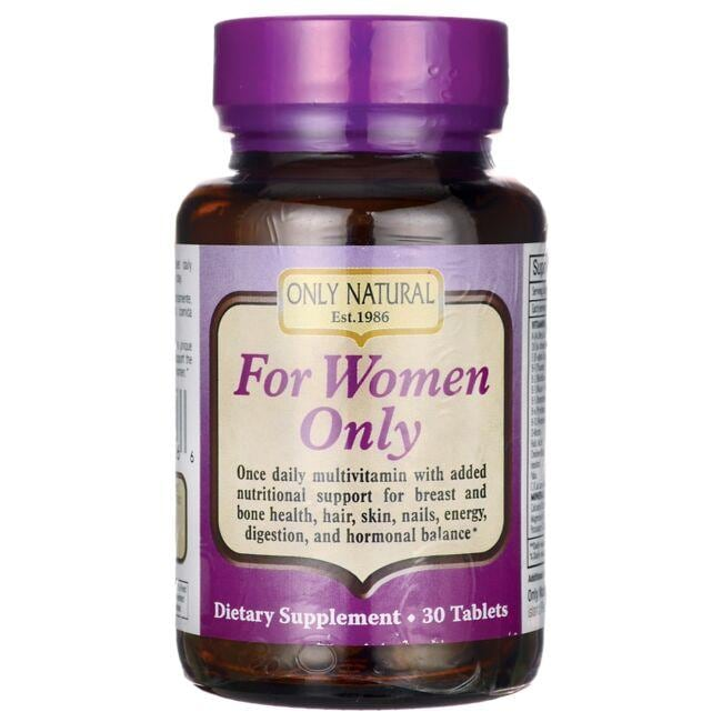Only NaturalFor Women Only