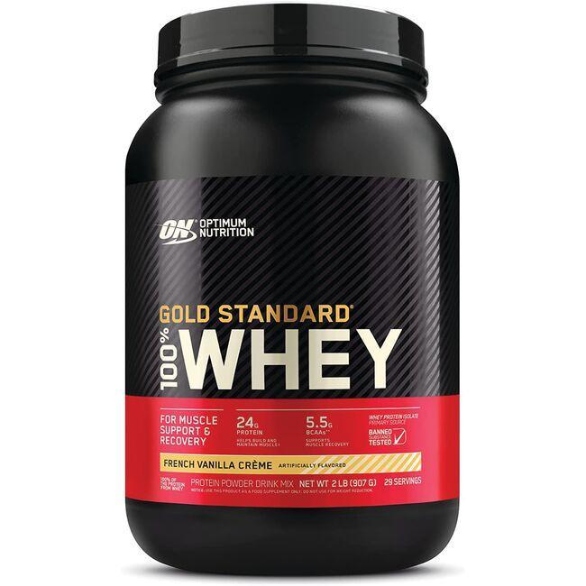 Optimum Nutrition100% Whey Gold Standard French Vanilla Creme