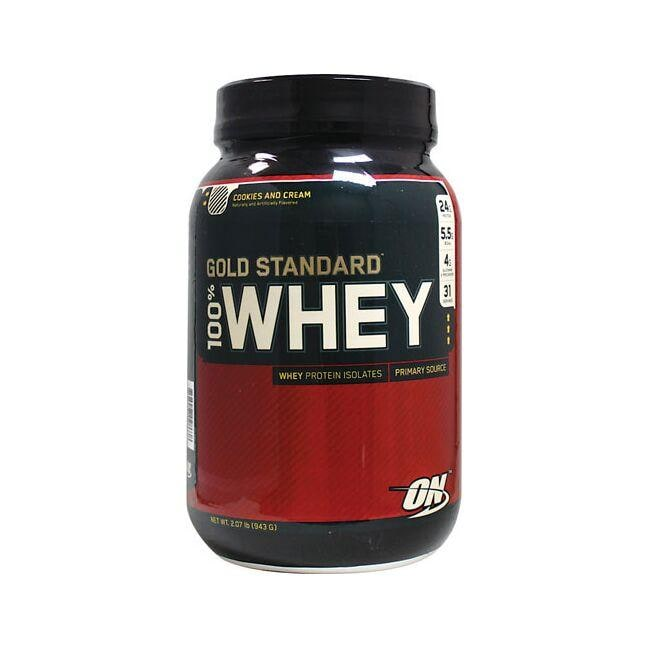 Optimum Nutrition 100% Whey Gold Standard Cookies And Cream 2.07 lbs Powder Protein