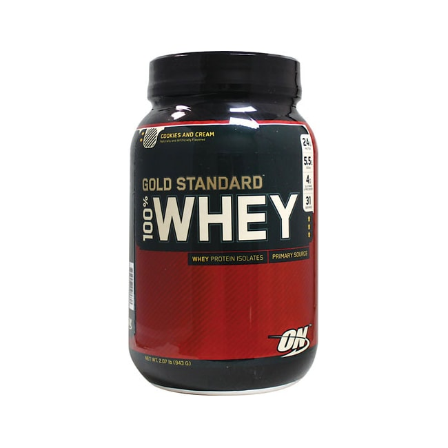 Optimum Nutrition 100% Whey Gold Standard Cookies And Cream
