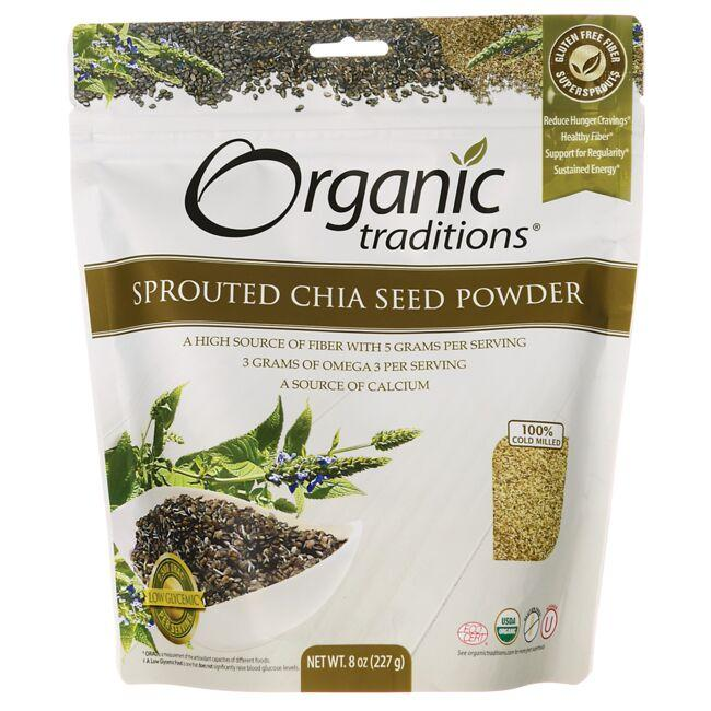 Organic Traditions Organic Sprouted Chia Seed Powder