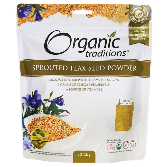 Organic TraditionsOrganic Sprouted Flax Seed Powder